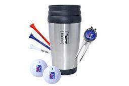 Coffret cadeau avec mug de voyage PGA Tour