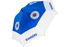 Parapluie de golf à double voilure Premier Licensing Rangers Tour Vent