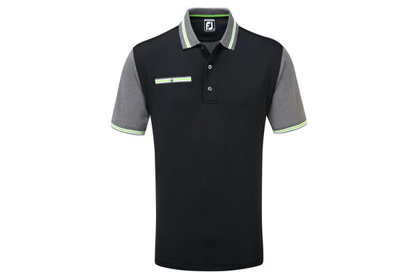 FJ Polo Stretch Pique Trims W6