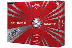 douze balles de golf Callaway Golf Chrome Soft Truvis
