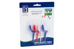 Lot de 4 tees anti-slice PGA Tour