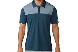 Polo Adidas Climachill Heather Block Competition