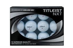 12 Balles de golf NXT Challenge recyclées