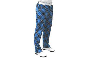 Pantalon Royal & Awesome Blue Plaid