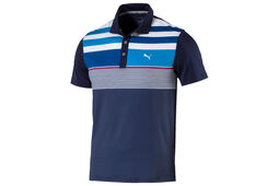 Polo PUMA Golf Road Map Asym pour enfants