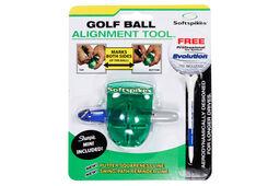 Outil d'alignement de balle de golf Softspikes