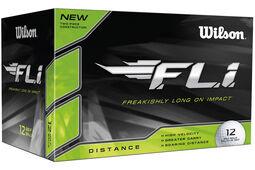12 Balles de golf Wilson FLi