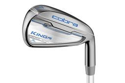 Fers en graphite Cobra Golf King F6 argent pour femmes
