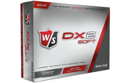 12 Balles de golf Wilson Staff DX2 Soft