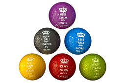 6 Balles de golf PGA Tour Novelty