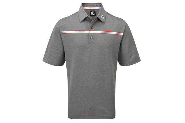 FJ Polo Pique Chest Stripe W6
