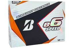 12 Balles de golf Bridgestone Golf e6 Speed