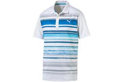 Polo PUMA Golf Washed Stripe