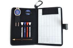 Accessoires et porte-carte de score en cuir véritable PGA Tour