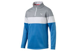 Pull PUMA Golf PowerWarm  à quart de zip
