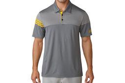 Polo adidas Golf Heather 3-Stripes