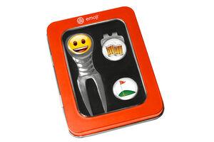 Kit décapsuleur et relève-pitch de golf emoji