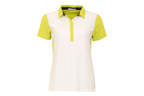 Green Lamb Polo Plain Contrast
