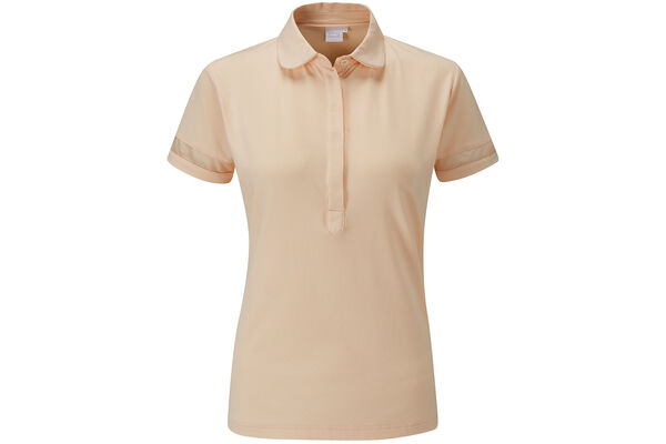 Polo PING Mila Sheer Panel pour femmes