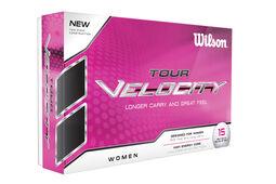 12 Balles de golf Wilson Tour Velocity pour femmes