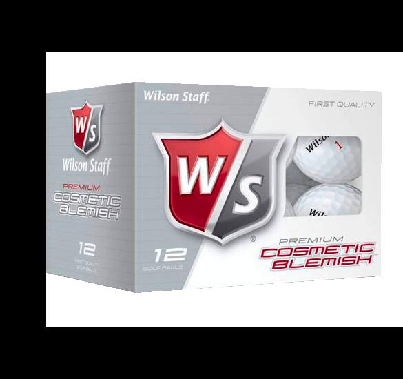 12 balles de golf Wilson Staff DX2 imperfections esthétiques