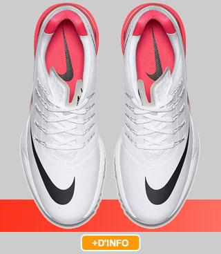 Nike Lunar Control White/Black/Crimson
