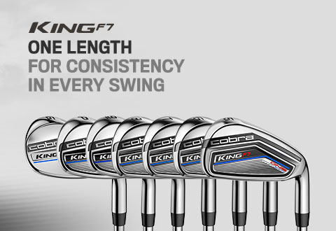 Cobra Golf King F7 Irons - One Length