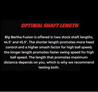 Callaway Big Bertha Fusion Info 10