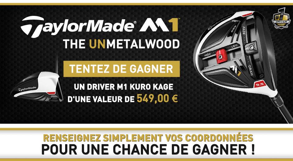 win a TaylorMade M1 Kuro Kage Driver