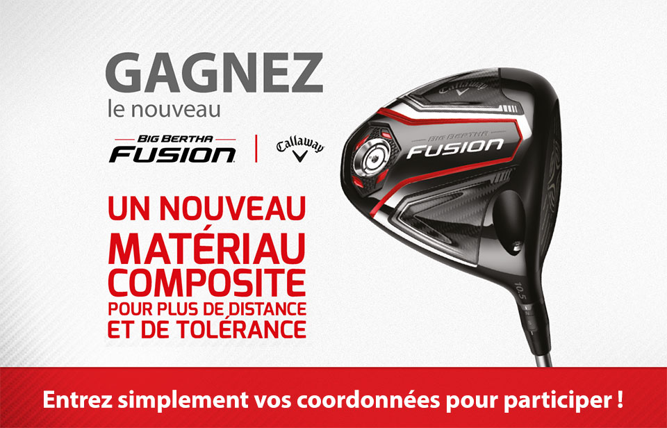 Big Bertha Fusion Driver Competition