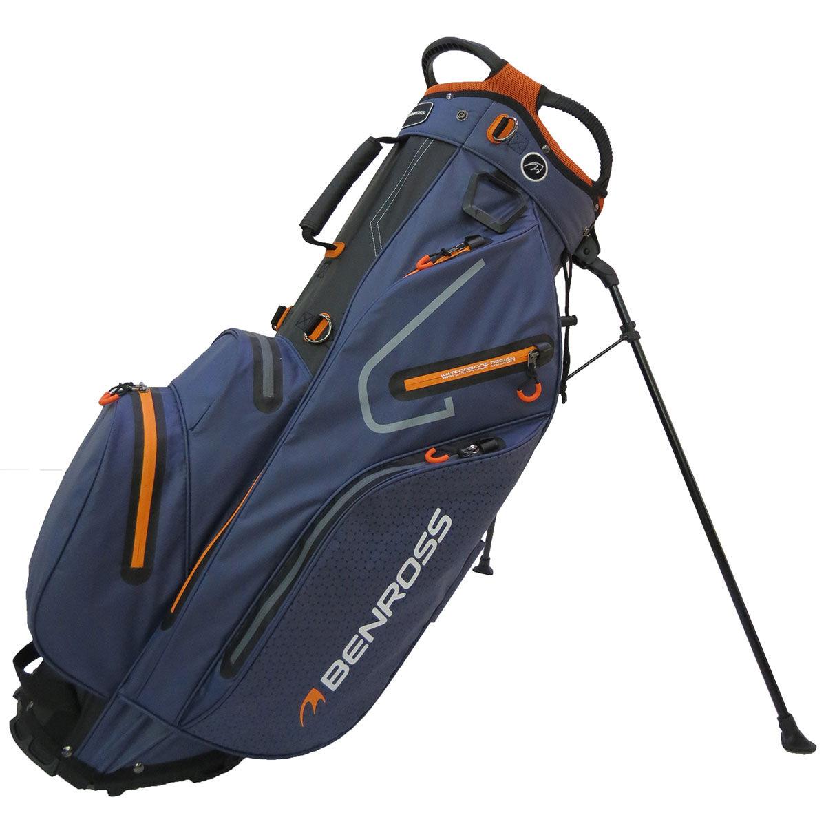 Sac trépied imperméable Benross PROTEC 2.0, homme, Navy/black/orange    Online Golf