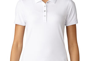 Polo adidas Golf Essentials Cotton Hand pour femmes