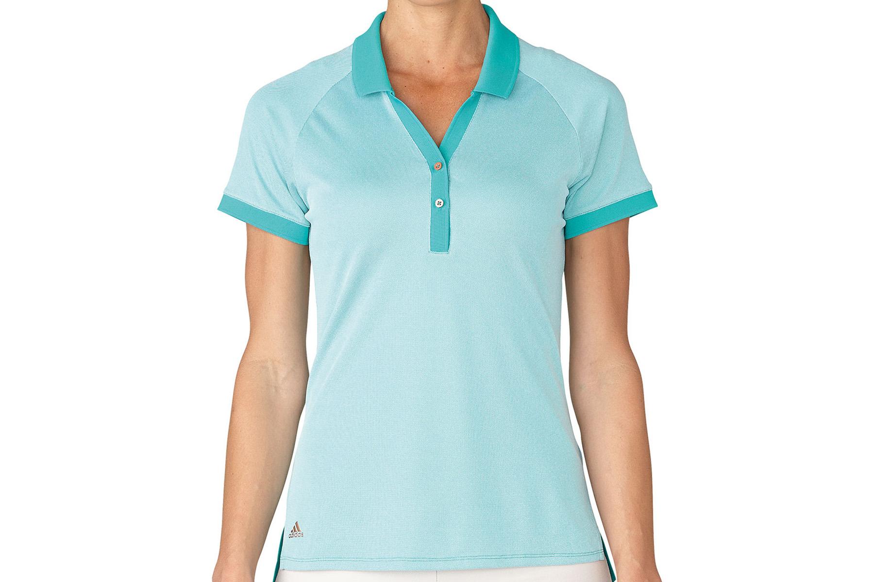 polo adidas golf essentials pique pour femmes online golf. Black Bedroom Furniture Sets. Home Design Ideas
