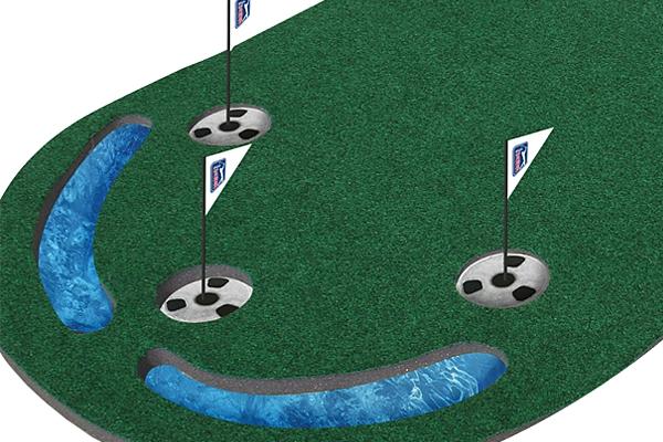 tapis de putt de longueur professionnelle 3x9 pga tour online golf. Black Bedroom Furniture Sets. Home Design Ideas