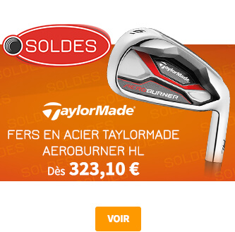 TaylorMade Aeroburner Iron Soldes