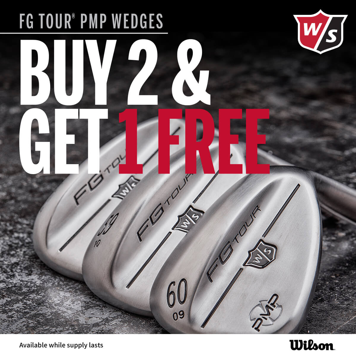 Wilson Staff PMP Wedges 3 for 2