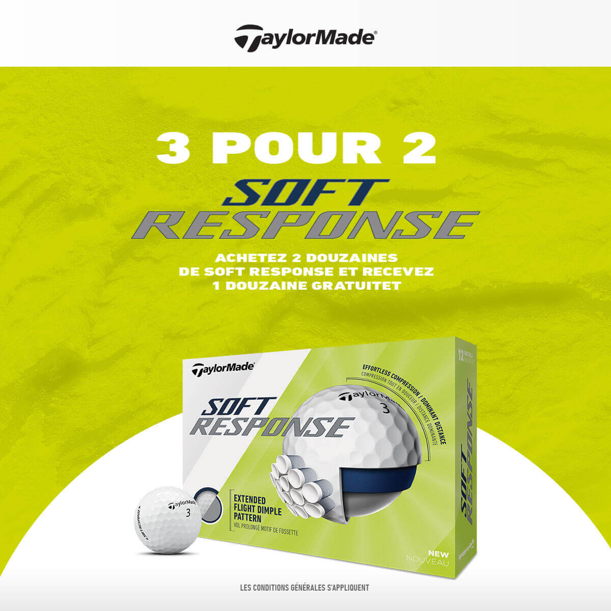 TAYLORMADE 3 FOR 2