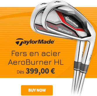 TaylorMade AeroBurner HL Steel Irons -  BUY NOW